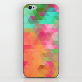 Exotic Triangles iPhone Skin