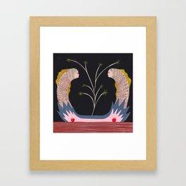 The Great Splitting of the Eel Framed Art Print