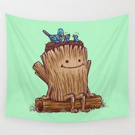 Good Day Log's Bird Nest Wall Tapestry