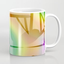 Pattern after earthquake ... Coffee Mug