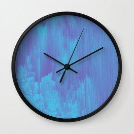 Hazy Winter Wall Clock