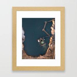 Cava Framed Art Print