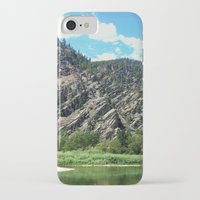 montana iPhone & iPod Cases featuring Montana Rock  by OrdinaryAdventures