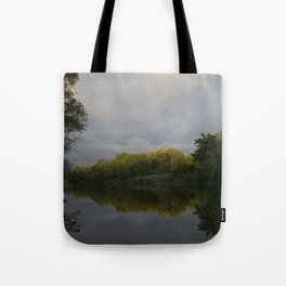 Sunset After Showers Tote Bag