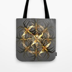 Earth Brown Insect Tote Bag