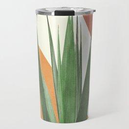 Abstract Agave Plant Travel Mug