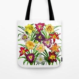 Display of daylilies I Tote Bag
