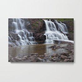 Lower Gooseberry Falls Metal Print