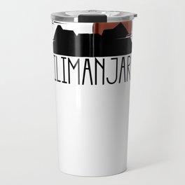Mt. Kilimanjaro Zip Hoodie Travel Mug
