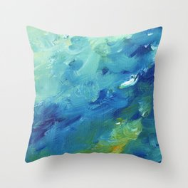 From Below v.3 Throw Pillow
