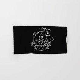 Dog Club B&W Hand & Bath Towel