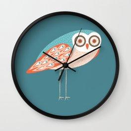 Long Legged Owl Wall Clock