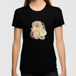 Yellow Floral Watercolor T-shirt
