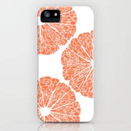 Grapefruit to Suit iPhone Case