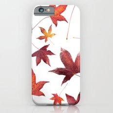 Dead Leaves over White Slim Case iPhone 6s