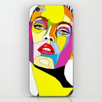 model iPhone & iPod Skins featuring Model by Floridana Oana