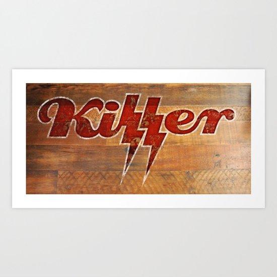 Killer Art Print