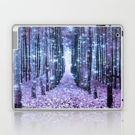 Magical Forest Lavender Ice Blue Periwinkle Laptop & iPad Skin