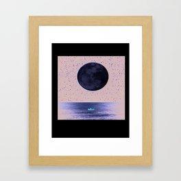 A Prayer to Genevieve Framed Art Print