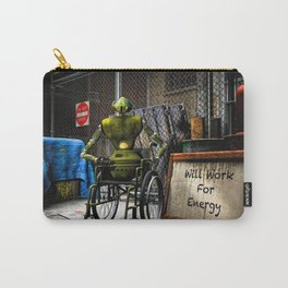 Will Work For Energy Carry-All Pouch