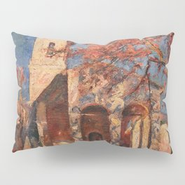 African American Masterpiece Chapel of Notre Dame, Cagnes-sur-Mer' by William Johnson Pillow Sham