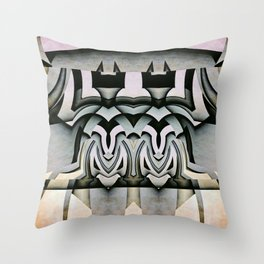 King And Queen Of The Insect World Throw Pillow