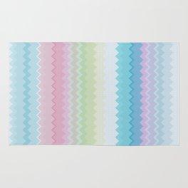 Rainbow pattern Rug