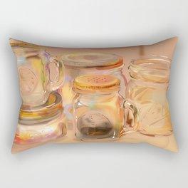 Mason Jars Rectangular Pillow