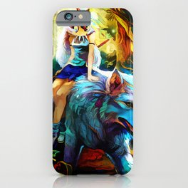 Colorful keepers iPhone Case