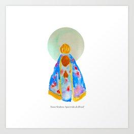 Nossa Senhora Aparecida Art Print