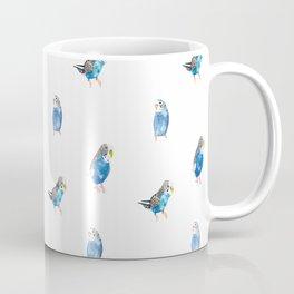 Blue Canaries Coffee Mug