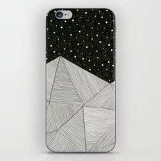 Stripe Mountains iPhone & iPod Skin