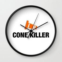 Cone Killer v4 HQvector Wall Clock