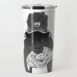 Black Panther Warrior Travel Mug