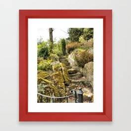 Stairway to... Warwick, England 2006 Framed Art Print