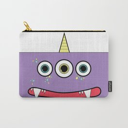 Purple Monster Carry-All Pouch