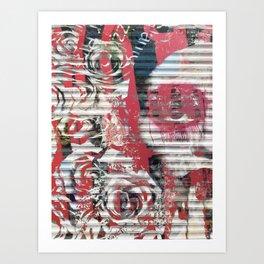 Astor and Bowery Art Print