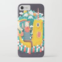 unicorn iPhone & iPod Cases featuring Unicorn by Seaside Spirit