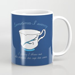 Belle's Chipped Cup Coffee Mug