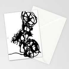 Cyclists Cycle Stationery Cards
