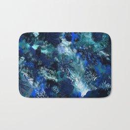Blue Coral Bath Mat
