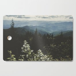 Smoky Mountains - Nature Photography Cutting Board