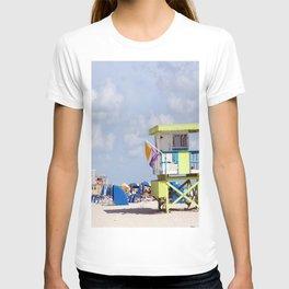 South Beach Lifeguard Station T-shirt
