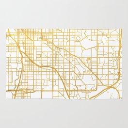 DENVER COLORADO CITY STREET MAP ART Rug