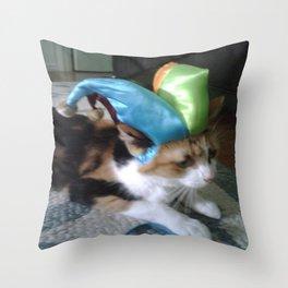 HARLEQUAT 2 Throw Pillow