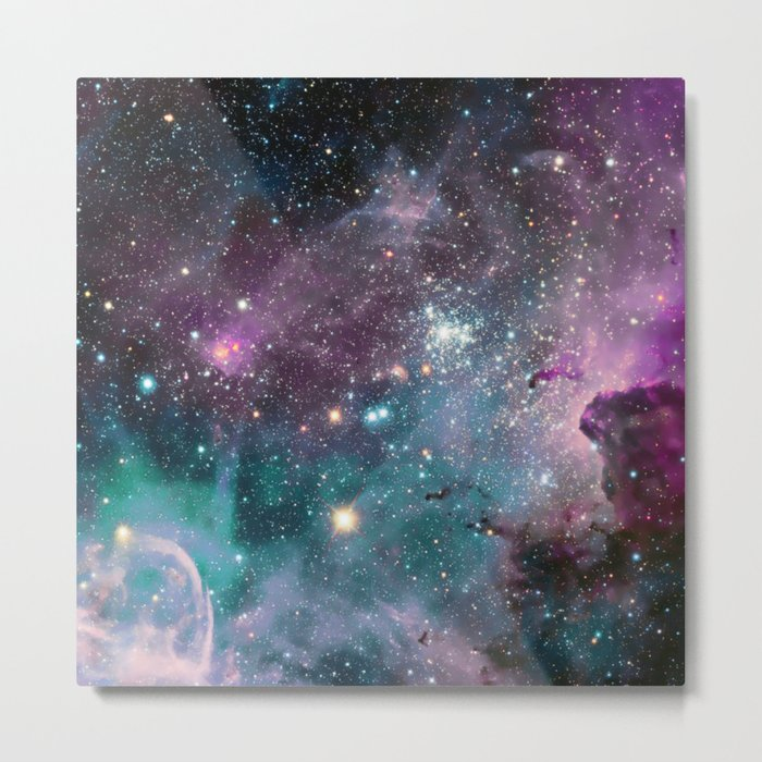 galaxy seapunk Metal Print