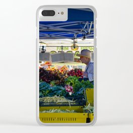 Farmers Market Clear iPhone Case