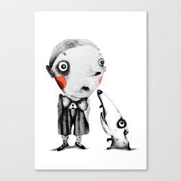 Tom & Gonzo  Canvas Print