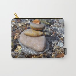stones with shell Carry-All Pouch