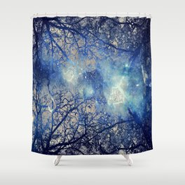Winter Wood Shower Curtain
